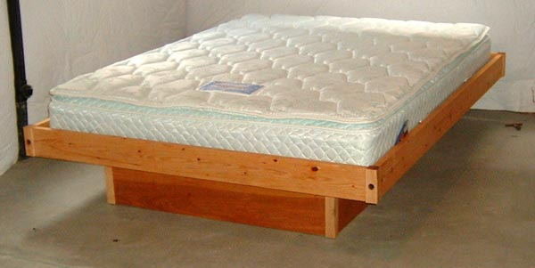 build a platform bed frame plans | Quick Woodworking Projects